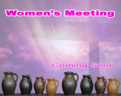 Women's Meeting
