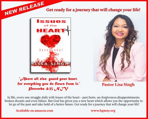 Issues of the Heart by Pastor Lisa